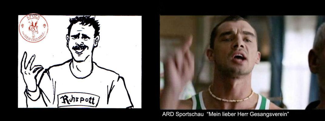 """ARD Sportschau """"Mein lieber Herr Gesangsverein; Regie/ Director: Christian Ditter"""