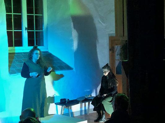 """erdengold&grünzeugzauber - mystischer Erzählabend 2020 mit den """"WoortWiiber"""" Luciana Brusa und Ines Henner"""