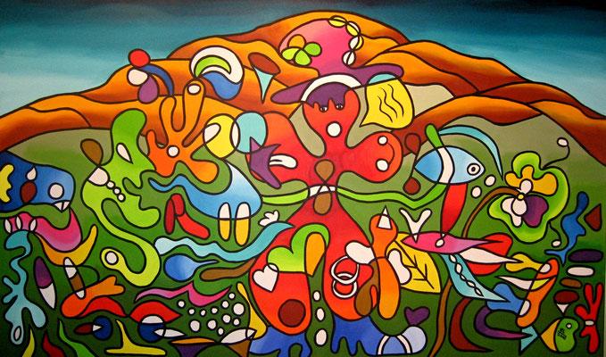 Up to You - 160x100 - acryl op doek VERKOCHT