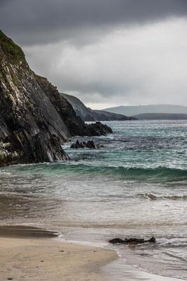Sur la plage de St Ninians