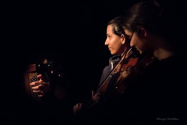 AMTET rassemblement de violons au COMDT