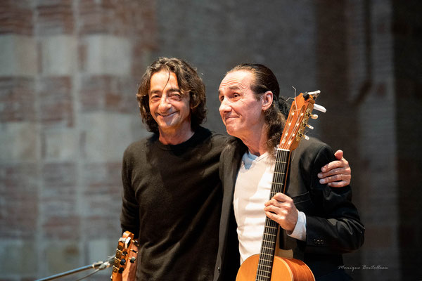 Bernardo Sandoval et Serge Lopez à St Pierre des Cuisines - Passe ton Bach 2019