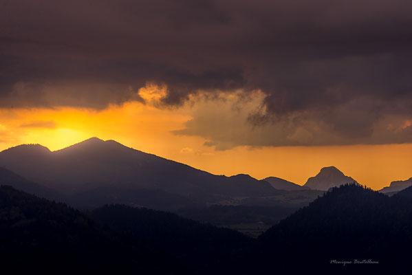 Lever de soleil en Ariège