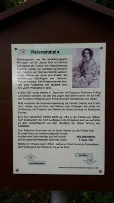 Dann geht es weiter zum Fuße des Helenenberges...