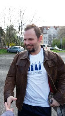 Adam Domagala, wieder herzlich willkommen in Jena.