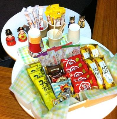 韓国のお菓子食べ比べ