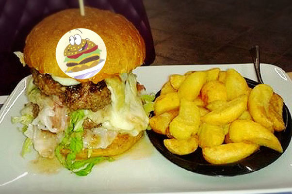doppio hamburger la sfida