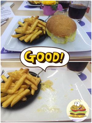 quando un hamburger è buono sparisce in un attimo!