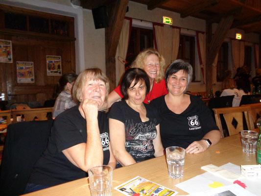 Gitte, Anita, Ilse und Susanne