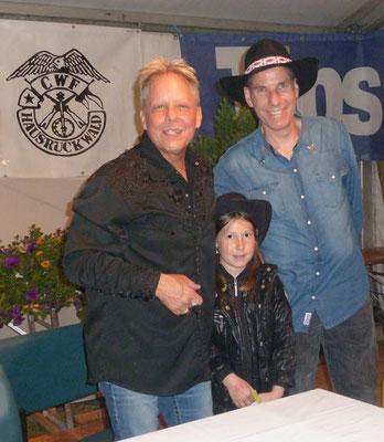 Martin und Melanie bei Mark Alan Cash