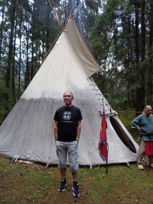 Bronko bei den Indianern