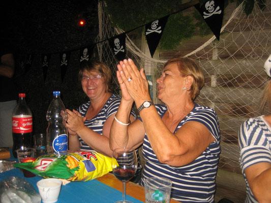 Karin und Jitka hatten sichtlich Spaß