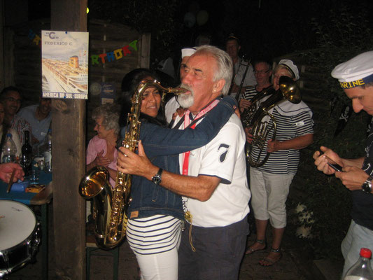 "Marita beim ""Saxophontanz"""