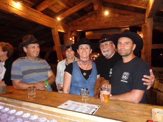 in der Whiskey-Bar