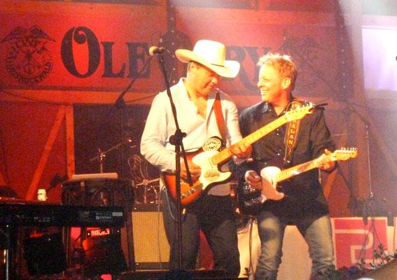 Daniel T. Coates (li) und Mark Alan Cash (USA)
