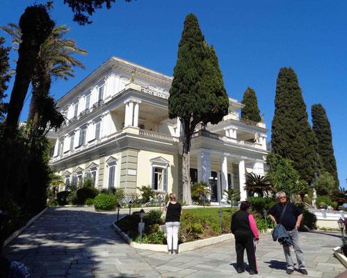 Sissis Achilles-Palast auf Korfu