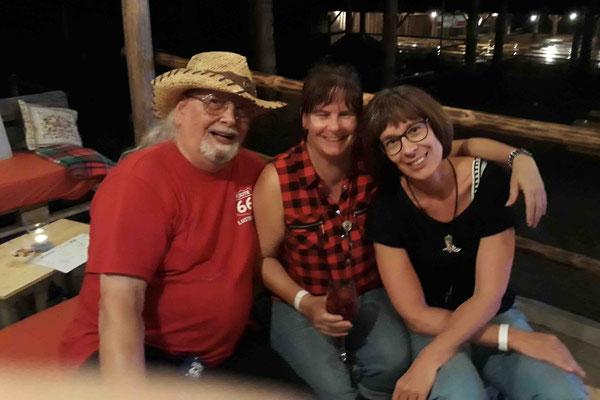 Ubbo mit Erika und Bea