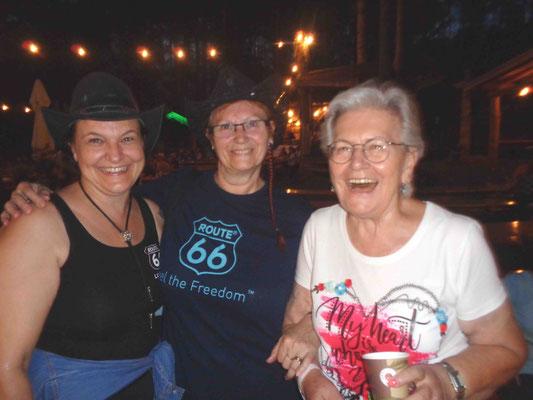 Heidi, Gerda und Marlene waren gut drauf