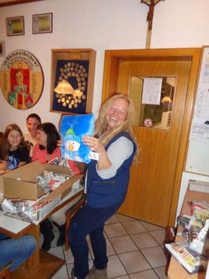 Annemarie hatte voll die Gaudi!