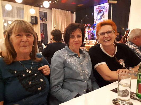Gitte, Anita und Gerda