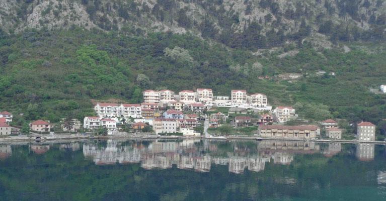 Hafeneinfahrt Kotor