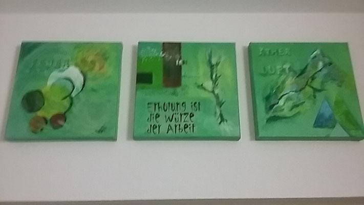 Acrylbild Elemente & Formen