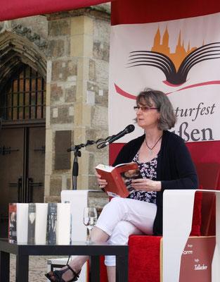 Literaturfest Meißen, Lesung auf dem historischen Heinrichsplatz