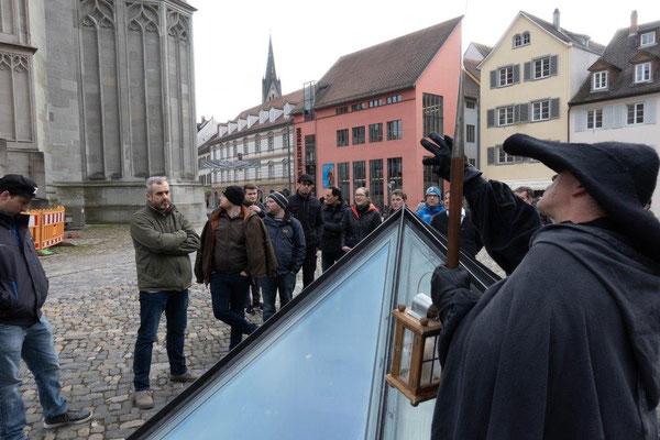 2019 Bildungsfahrt der Jugendfeuerwehr Oberallgäu - Nachwächterführung in Konstanz