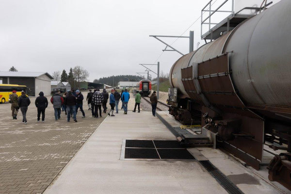 2019 Bildungsfahrt der Jugendfeuerwehr Oberallgäu - Bahnhof - Brandschutzausbildungszentrum Bundeswehr