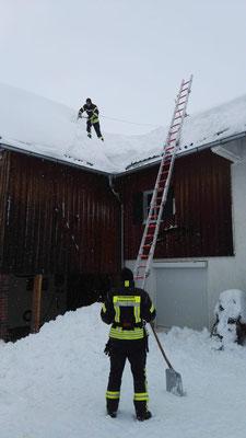 Dachabschaufeln Ermengerst