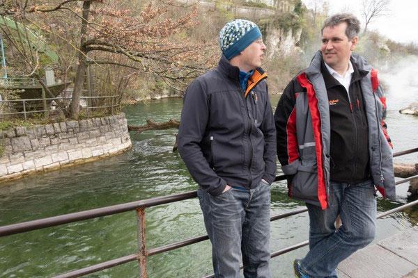 2019 Bildungsfahrt der Jugendfeuerwehr Oberallgäu - Rheinfall in Schaffhausen