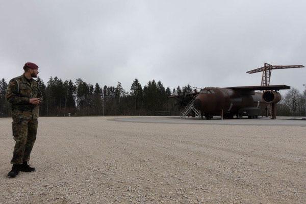 2019 Bildungsfahrt der Jugendfeuerwehr Oberallgäu - A400M - Brandschutzausbildungszentrum Bundeswehr