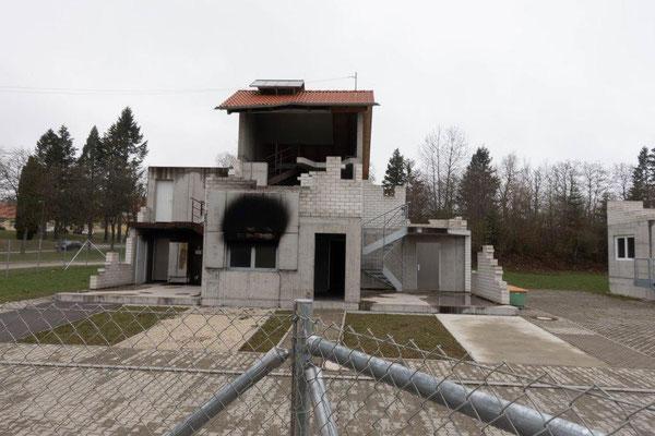 2019 Bildungsfahrt der Jugendfeuerwehr Oberallgäu - Brandhäuser - Brandschutzausbildungszentrum Bundeswehr