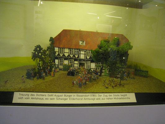 Szene aus der Hochzeit mit Molly in Bissendorf im Jahr 1785, (c ) Richard-Brandt-Heimatmuseum Wedemark