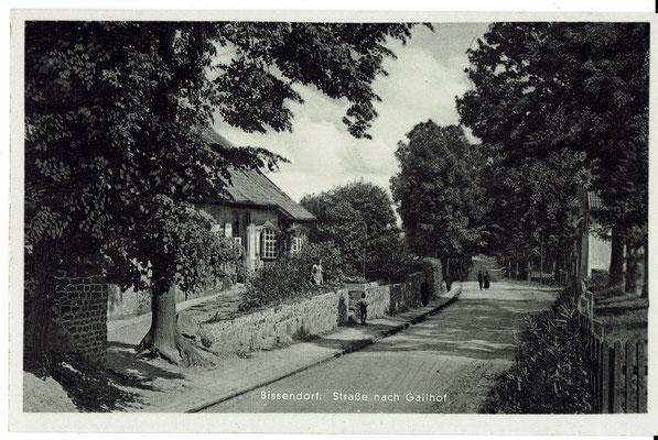 Die Krankenanstalt um 1937 (Postkarte aus der Sammlung von Peter Schulze, Bissendorf)