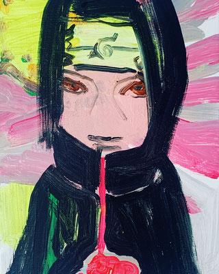Naroto befahl mir ein Bild von ihm zu malen | 2020 | Barbara Flatten