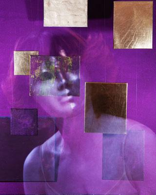 Violet Femmes 1 | 2019 | inszenierte Fotografie | Barbara Flatten