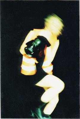 Domina_Maske | 2000 | inszenierte Fotografie | Barbara Flatten
