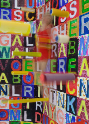 Crosswords 1 | 2016 | inszenierte Fotografie | Barbara Flatten