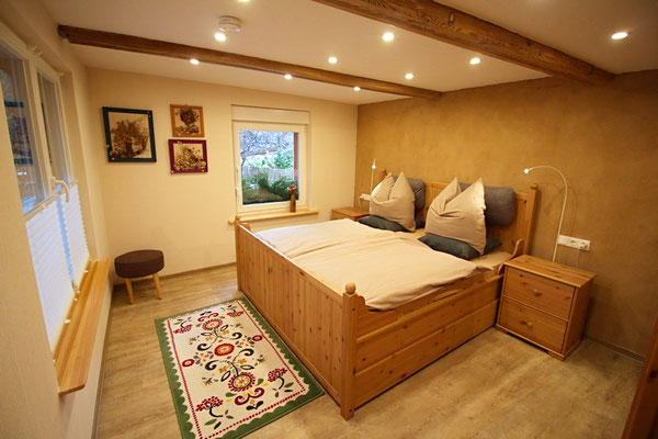 Spreewald Ferienwohnung Wendland Schlafzimmer Foto 1
