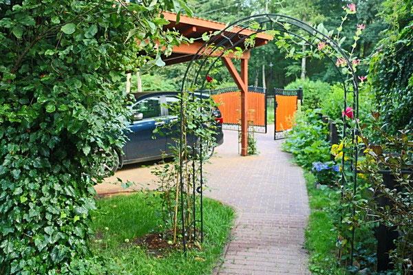 Spreewald Ferienwohnung Wendland Außenbereich Foto 3