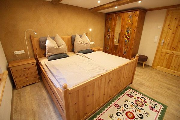 Spreewald Ferienwohnung Wendland Schlafzimmer Foto 2