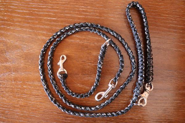 10 ブラック×ブラックカモ 渋いカラー Wナスカン 標準1.2mタイプ