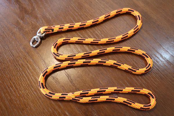 大型犬用 ロープのリード 回転カンタイプ (※外注)