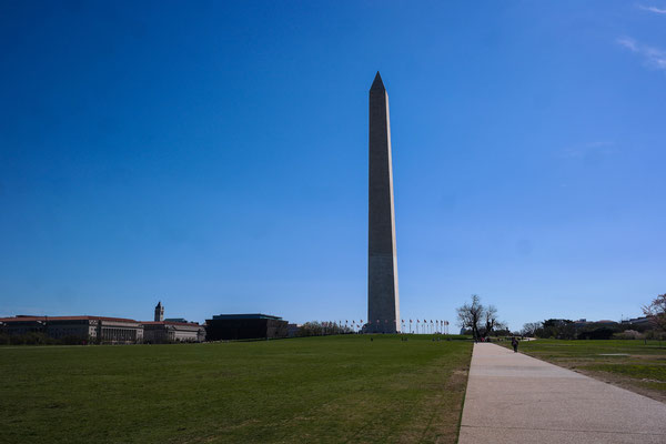 Washington Monument again without a lake