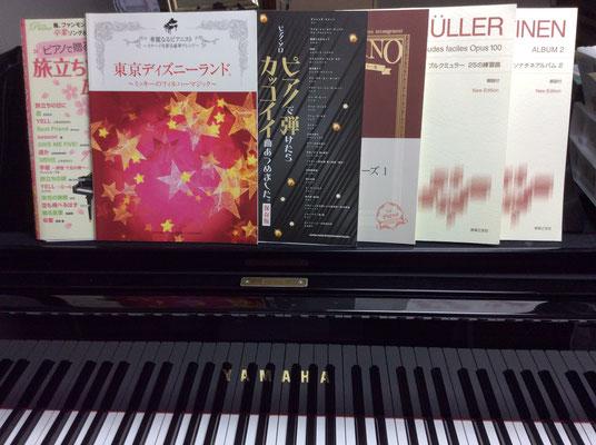 色んなジャンルの楽譜