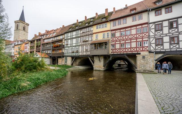 Oktober 2019 - Ein Tagesausflug nach Erfurt und ein Bild mit einer kleinen Geschichte. Das Bild zeigt die Krämerbrücke, die Geschichte zum Bild gibts auf Facebook oder Instagram...