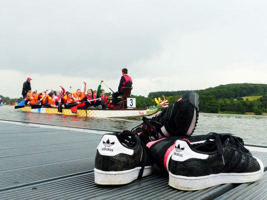 Juni 2015 - Drachenbootrennen am Baldeneysee