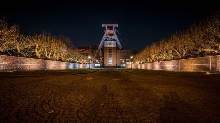 Februar 2019 - Abends auf Zollverein