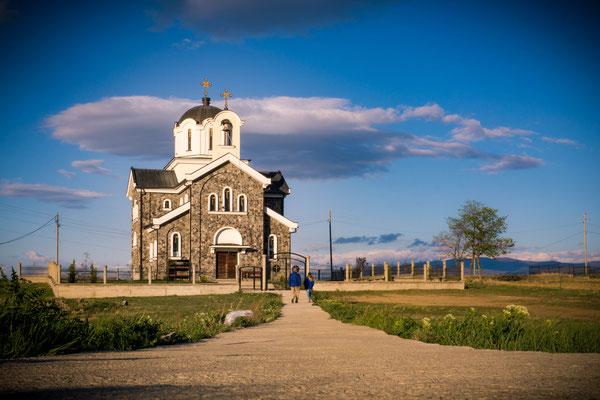 April 2017 - Eine 4 tägige Reise nach Mazedonien, stand in diesem Monat an. Stellvertretend dafür, das Foto der orthodoxen Kirche in Tri Cesmi bei Stip...